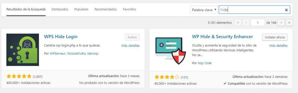 Como cambiar wp-admin en WordPress